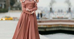ملابس مناسبات بسيطة للمحجبات , عايزه تكوني محجبه وانيقه تعالي معايا