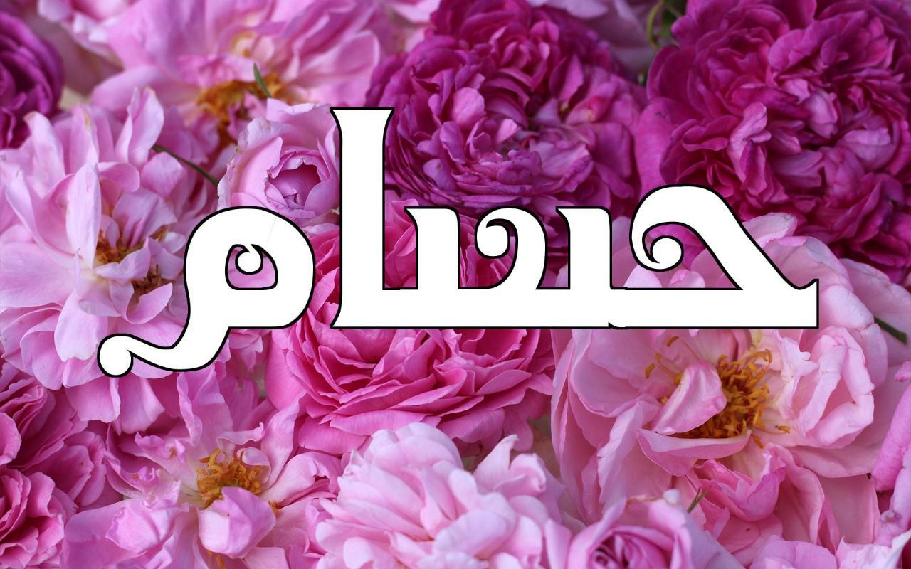 صورة اسم حسام بالصور , زخارف وزينه لاسم حسام