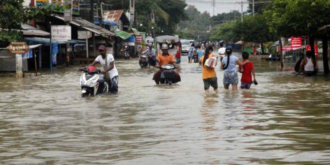 صور رؤية الفيضان في المنام , هل رؤيه الفيضانات في المنام شر