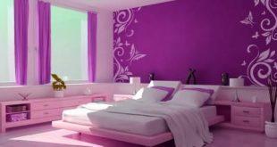صور غرف نوم موف , احدث الوان غرف النوم