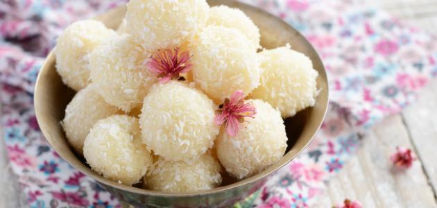 صورة حلوى بجوز الهند , اصنعى حلويات جوز الهند