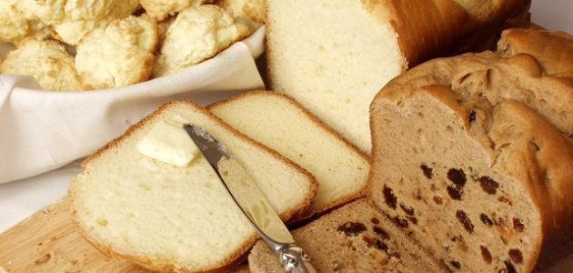 صورة الفرق بين الخبز الابيض والاسمر , فرق كبير بين الخبز الاسمر و الابيض