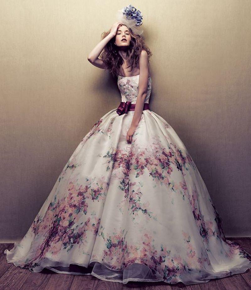 صورة موديلات فساتين تفته مشجر , اجمل الفساتين المشجرة 2020 2934 3