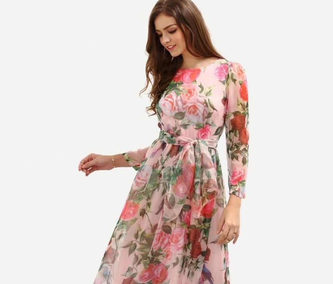 صورة موديلات فساتين تفته مشجر , اجمل الفساتين المشجرة 2020 2934 6