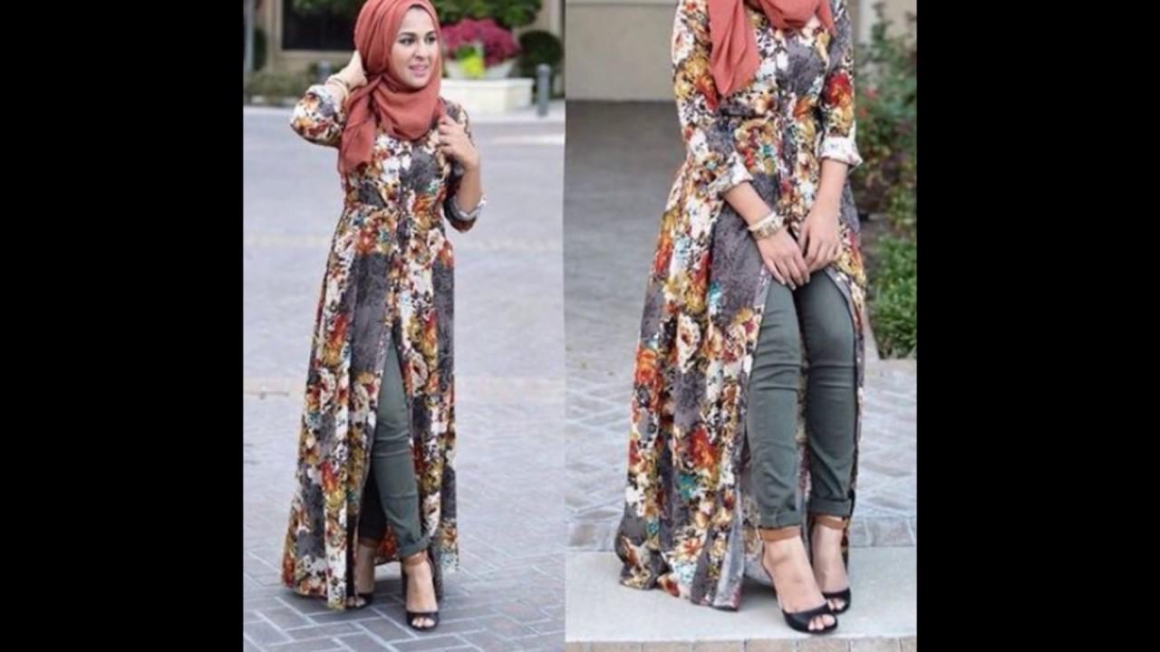 صورة لبس محجبات صيفي , ملابس صيفية للمحجبات 1652 4