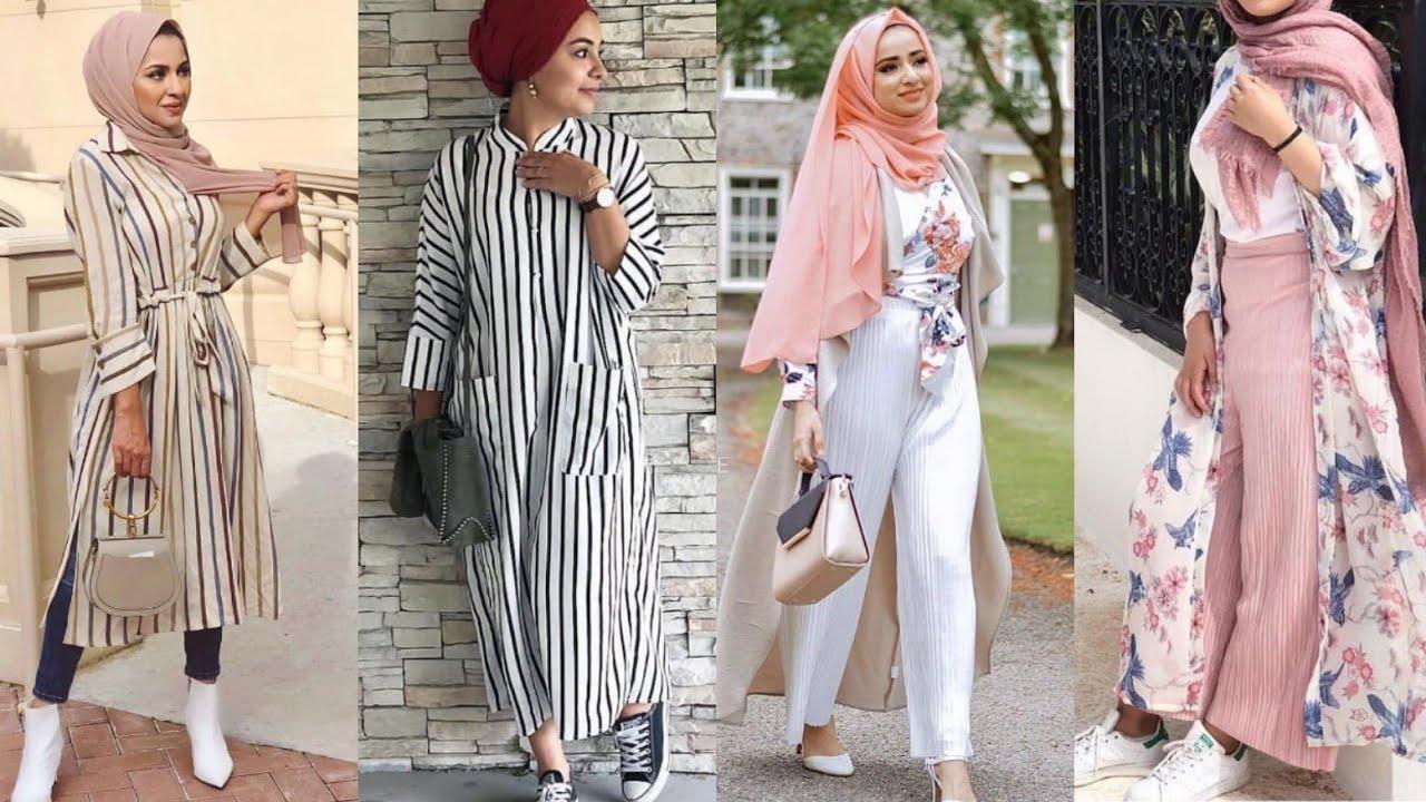 صورة لبس محجبات صيفي , ملابس صيفية للمحجبات
