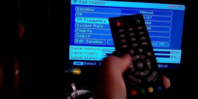 صورة كيفية ادخال تردد قناة , اسهل الطرق لاضافة قنوات للتلفزيون