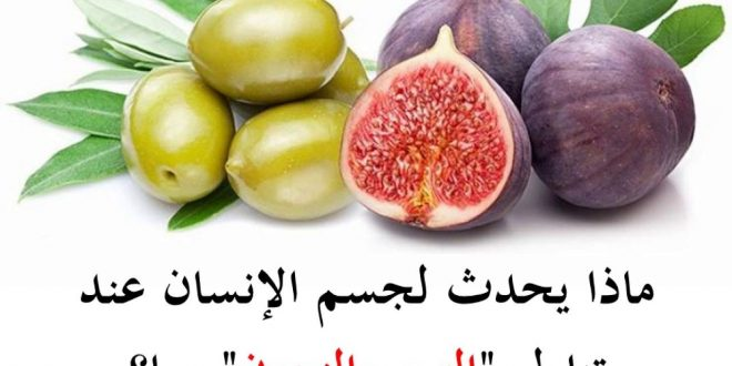صورة فوائد التين والزيتون باختصار , اهمية اكل التين و الزيتون