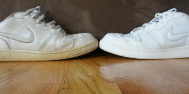 صورة طريقة تنظيف الحذاء الابيض الجلد , ازاي اخلي حذائي الابيض الجلد يرجع جديد