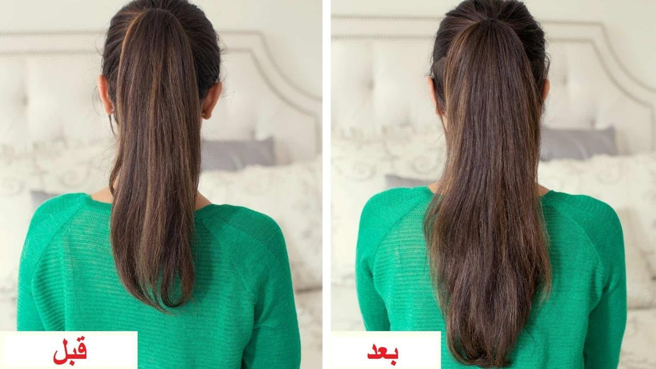 صورة خلطات طبيعية لتنعيم الشعر , كيفيه الحصول علي شعر ناعم
