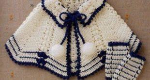 طريقة عمل شال كروشية لطفلة , اجمل شيلان كروشيه