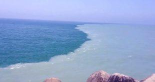 صورة مرج البحرين يلتقيان بينهما برزخ لا يبغيان اين يقع , معلومة مفيدة اعرف مكان البحران الملتقيان
