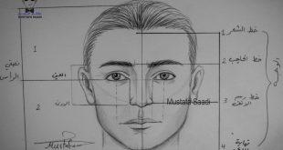صور تعلم رسم الوجه , احترف رسم الوجه وقوي موهبتك
