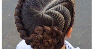 تسريحات شعر للبنات الصغار , اسهل تسريحات شعر للاطفال