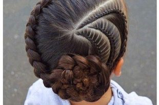 صورة تسريحات شعر للبنات الصغار , اسهل تسريحات شعر للاطفال