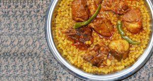 صورة طريقة عمل المبكبكة الليبية بالصور , مكرونة المطبخ الليبي