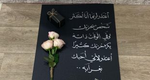 صورة رسائل اعتذار مصرية , كلمات للاعتذار