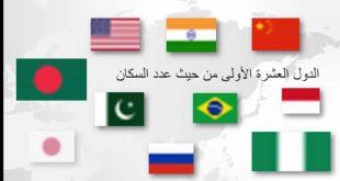 صورة ترتيب دول العالم من حيث عدد السكان , معقول كل هذا تكدث سكانى بالعالم