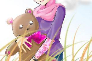 صورة صور كرتونية محجبة , بالكرتون تشجيع البنات علي الحجاب