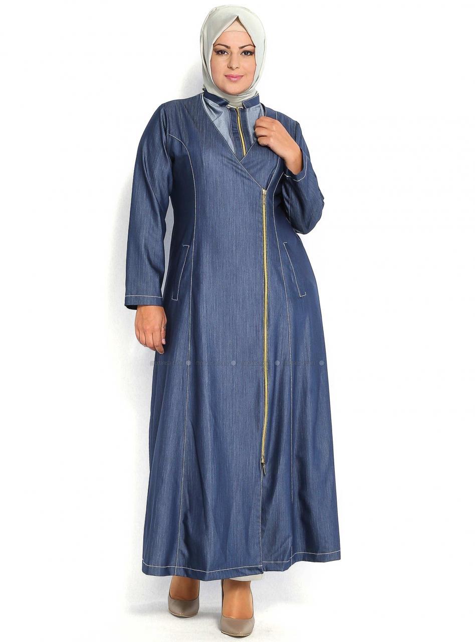 صورة ملابس كاجوال للبدينات المحجبات , ملابس للكيرفي المحجبات الاشيك دائما