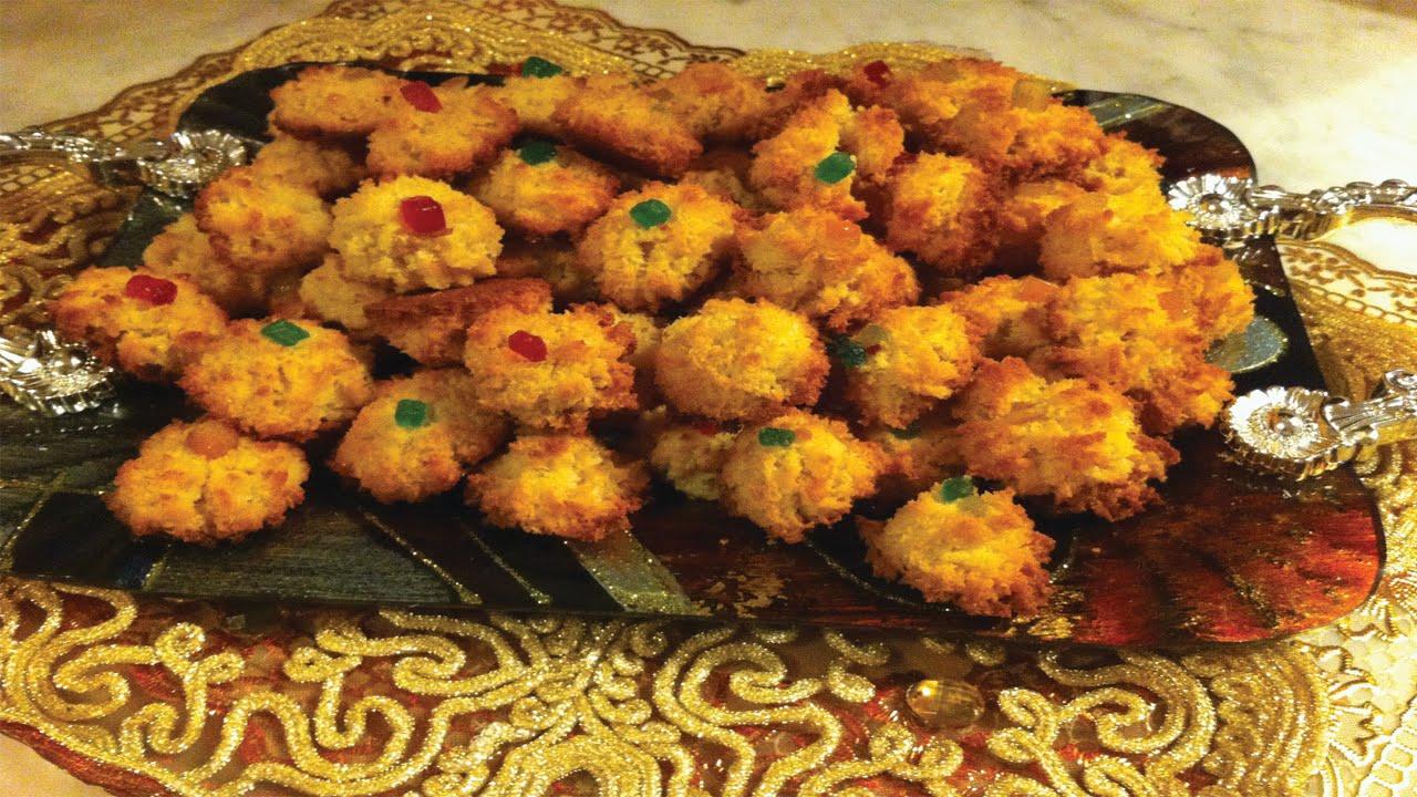 صورة كيفية صنع الحلوى , حلوى جوز الهند الشهية بتكات سحرية