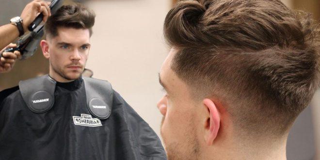 صورة كيفية تسريح الشعر للرجال بالصور , تسريحات رجالية من الاخر