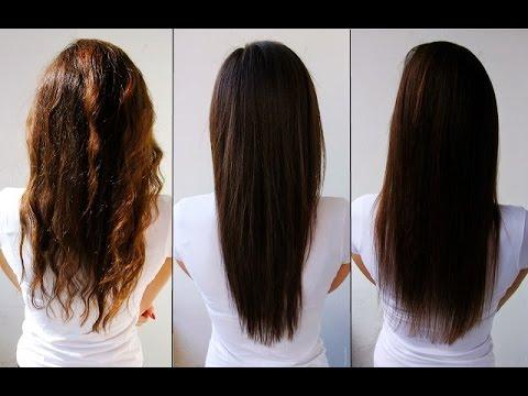 صورة خلطات لتنعيم الشعر المصبوغ , وداعا للخصل الخشنة
