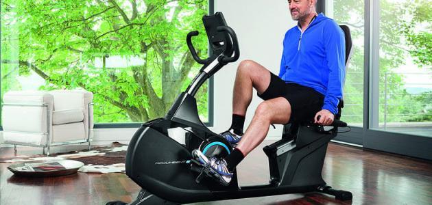 صورة فوائد الدراجة الهوائية الثابتة , اخسر وزنك وانت فى بيتك