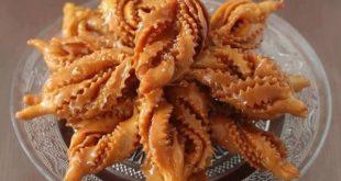 بمكونات بسيطة هتعملى احلى حلويات مغربية , طريقة تحضير الشباكية