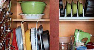 صورة روقى مطبخ باناقة ,كيف ارتب دولاب مطبخي بالصور