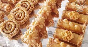 صورة تقاليد الحلوى المغربيه ,حلويات تقليدية مغربية